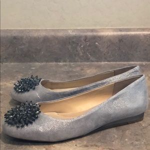 Alex Marie Beaded Leather Flats